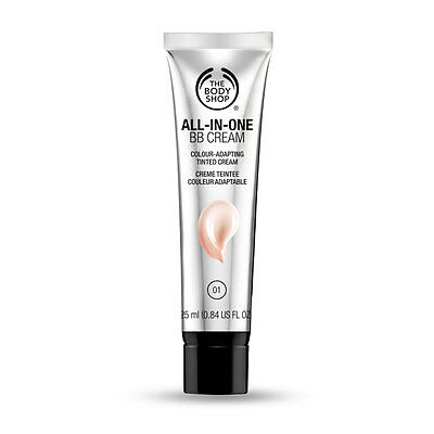 The Body Shop All In One BB Cream 01 Shade Brand New