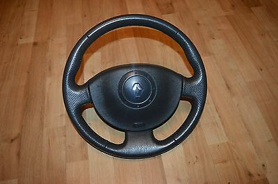 Renault Megane MK2 03-08 Scenic Complete Steering wheel with airbag 8200106306 E