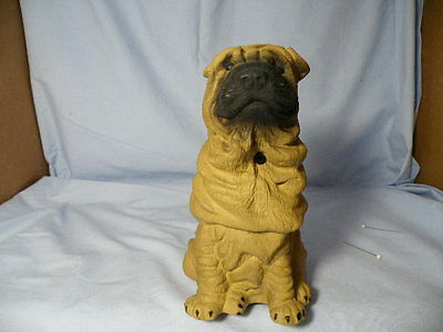 Vintage Shar Pei Light Sensor Figurine