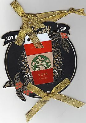 Starbucks Gift Card ¥100 Red Cup Key Card 2015 CHINA 7310