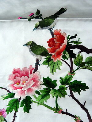 """BEAUTIFUL CHINESE EMBROIDERED SILK PICTURE 19"""" x 13"""""""