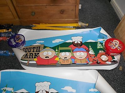 Pinball South Park Heavy Duty Vinyl Decal Sticker set