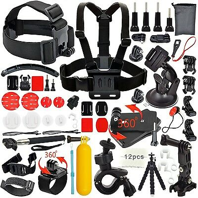Common Foundation Accessories Kit for sj4000/sj5000 cameras and GoPro Hero 4/...