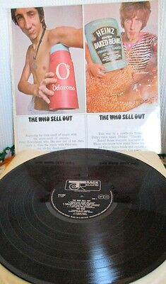 The Who Sell Out Track records Stereo 613002 RARE First press A2/B1 Psych Vinyl
