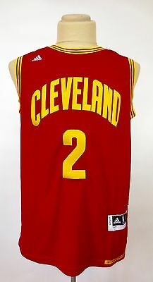 NWT Cleveland Cavaliers Kyrie Irving NBA Swingman Men Jersey Red Size Large