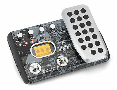 Zoom G2.1DM Dave Mustaine Multi-effects Pedal & USB A-I 83 Effect Types DEMO
