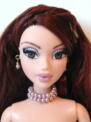 OOAK Chelsea MY SCENE BARBIE DOLL repaint rooted lashes redhead + Jewelry WOW!!