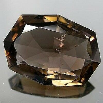 Best SMOKY QUARTZ Fancy Cut 20 x 14.5 mm 10.15 CT.
