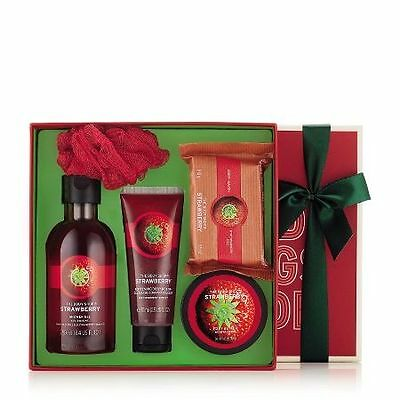 New Vegetarian The Body Shop Gifts Strawberry Bliss Box