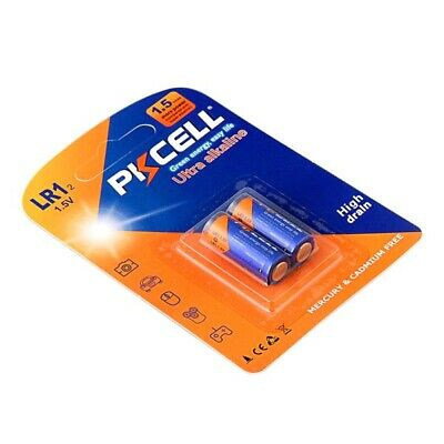 10 x N Size 1.5V Alkaline Batteries ( LR1,AM5,E90,MN9100 )  PKCELL Free Shipping