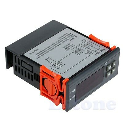 STC-2000 220V -55~120℃ Digital Temperature Controller Thermocouple Sensor Hot