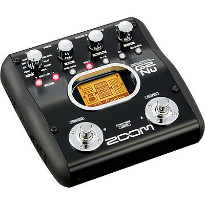 Zoom G2Nu Guitar Multi-Effects Pedal/USB Interface