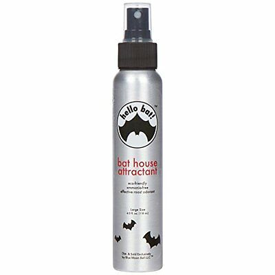 NEW Hello Bat Large Bat House Attractant 4 Ounce FREE SHIPPING