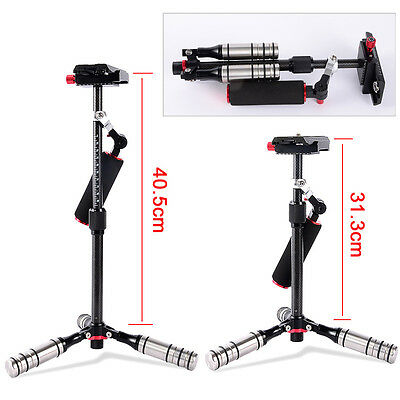 Pro Carbon Fiber Portable Steadicam Handheld Stabilizer For Video DV DSLR Camera