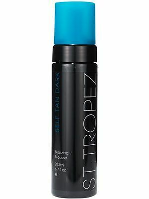 St Tropez Self Tan Dark Bronzing Mousse 200Ml Brand New Sealed