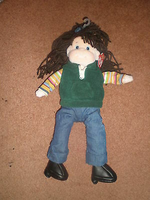 Vintage RARE SPUNKY SAMMIE FROM TY BEANIE BOPPER COLLECTION  DOLL, 2001 NWT