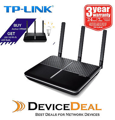 TP-Link Archer VR900 AC1900 Wireless VDSL/ADSL Modem Router