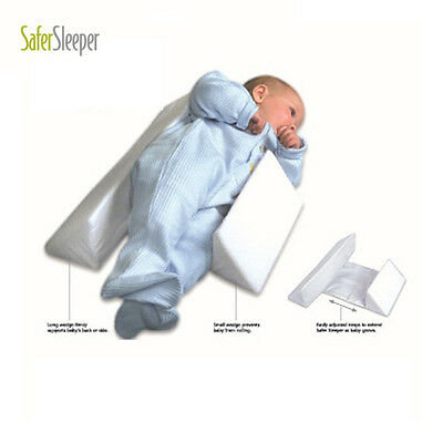 New Adjustable Baby Infant Sleep Pillow Support Wedge Width Anti Roll Cushion