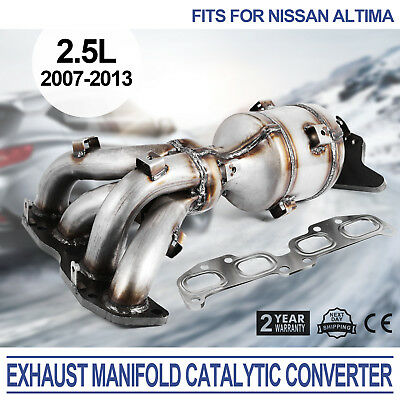2007-2018 Nissan Altima 2.5L Exhaust Direct-Fit Catalytic Converter Rear