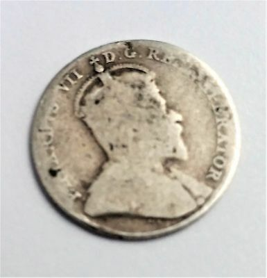 CANADA 1909 ten 10 cents silver dime coin