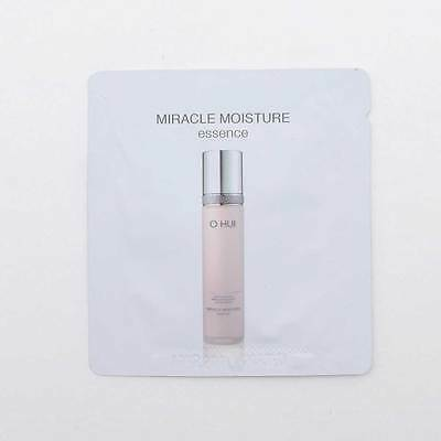 [OHUI] Miracle Moisture Essence 1m X 10,20,30 or 40pcs with 5pcs O Hui testers