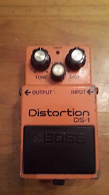 Boss DS1 Distortion Pedal Made in Japan