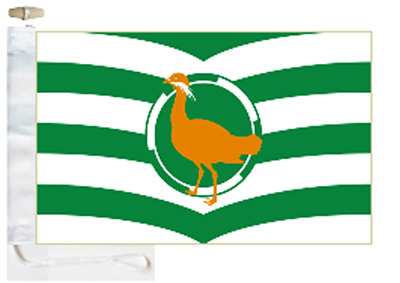 Wiltshire County Courtesy Boat Flag Roped & Toggled
