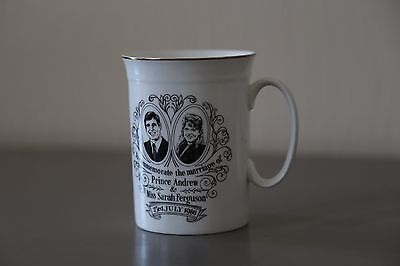 Mug To Commemorate the Marriage of Prince Andrew & Miss Sarah Ferguson 23/07/86