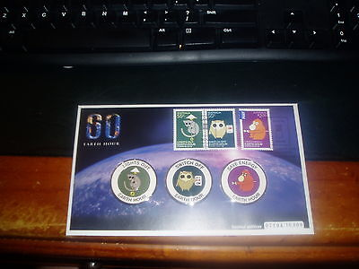 2009 Earth Hour Limited Edition  Pnc First Day Cover