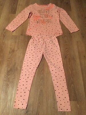 Girls Mothercare Top and leggings set age 7-8 years