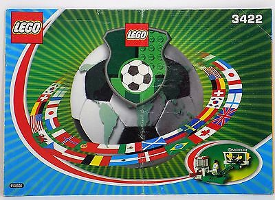 LEGO Instruction Manual Soccer Shoot 'n' Save for Set 3422 Book only No Parts