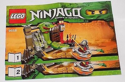 LEGO Instruction Manual Racers for set 8140+8136, 8140+8139 Book only No Parts