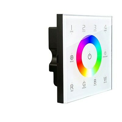 LED Supplies TOUCH-8 LED Strip Controller RGBW Wireless 4 Zone