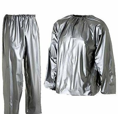 Men Woman Sauna Suit For Weight Loss Slimming Training Exercise Sweat Home Gym