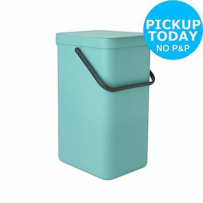 Brabantia 16 Litre Sort and Go Waste Bin - Mint. From the Argos Shop on ebay