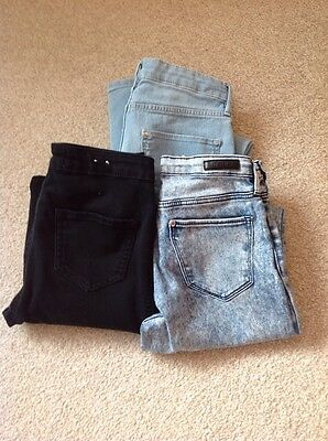 Bundle Of Girls Skinny Jeans Age 12