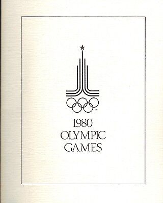 Russia 1977 Folder Showing Wrestling Stamp For The 1980 Olympics