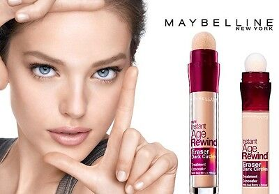 MAYBELLINE 1 x Instant Age Rewind Eraser Dark Circles + Treatment Foundation