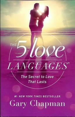 The 5 Love Languages The Secret to Love By Gary Chapman - Brand New