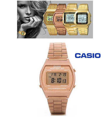 Casio Unisex Stainless Steel 50M Illuminator Quartz Watch B640WC-5ADF 12 MONTHS