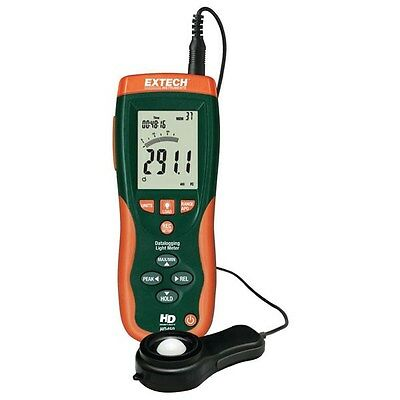Extech HD450 Heavy Duty Data Logging Light Meter with PC Interface