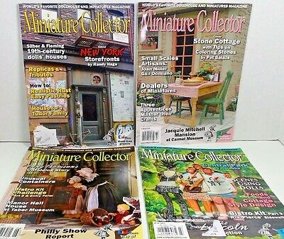 Miniature Collector Magazines New York Storefronts Central Park
