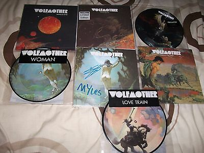 "Wolfmother 7"" Singles Also Includes Autographed Vinyl"
