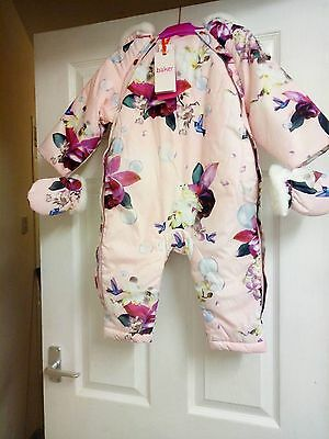 Bnwt Ted Baker Snowsuit All In One 12-18