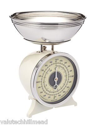 Kitchen Craft Classic Mechanical Kitchen Scale in Cream