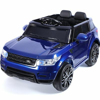 Compact HSE Range Rover Style Electric 12v Child's Ride on Jeep - Blue