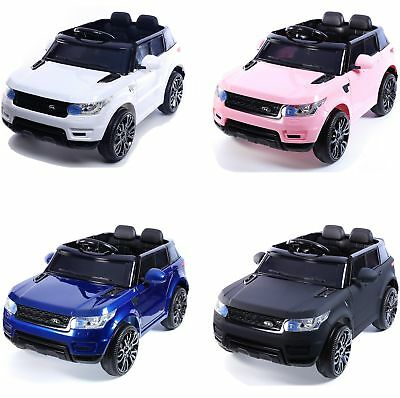 Compact HSE Range Rover Style Electric 12v Child's Ride on Jeep - 5 Colours