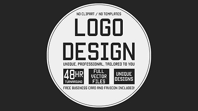 Design PROFESSIONAL Logo + UNLIMITED concepts & Revisions