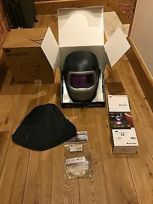 3M Speedglas 9100XX  Welding Helmet + Large 9100 Headcover.