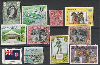 Jamaica.10 Briefmarken.